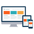 Responsive design, mobile apps